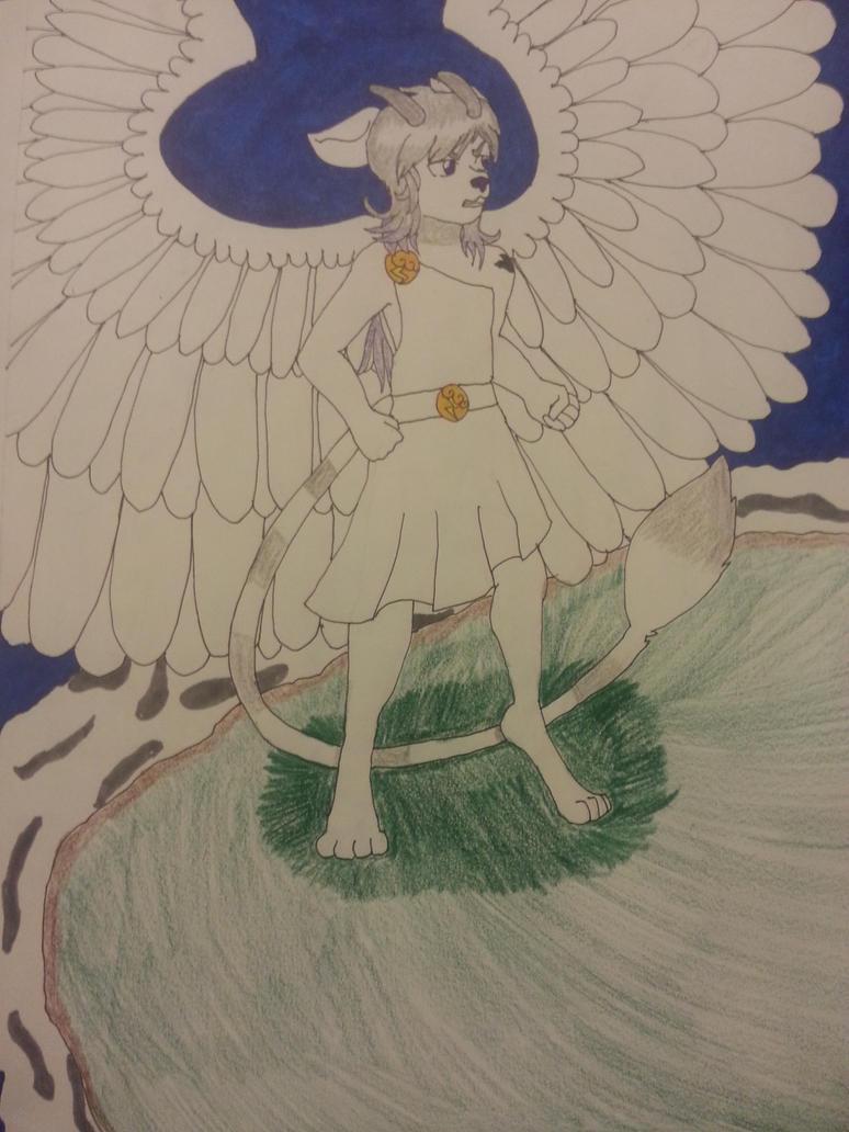 Angel by WeirdnessMaster25