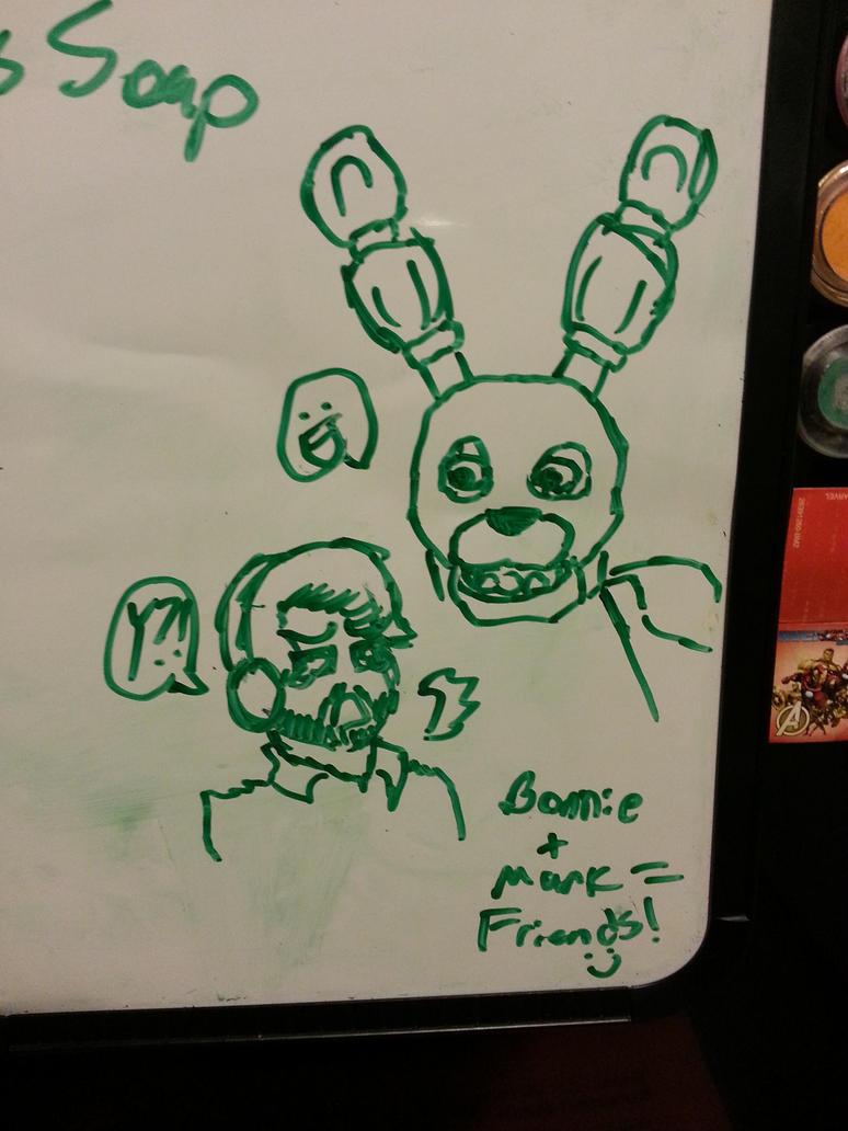 Bonnie and Mark Friendship lol by WeirdnessMaster25