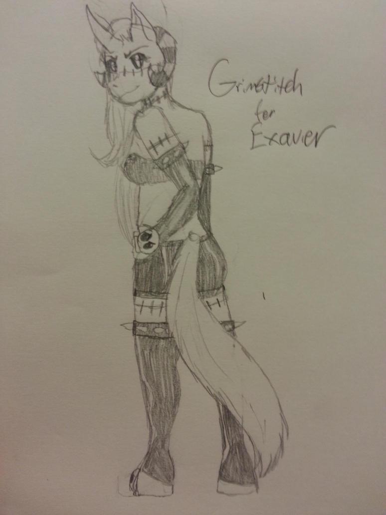 Grimstitch by WeirdnessMaster25