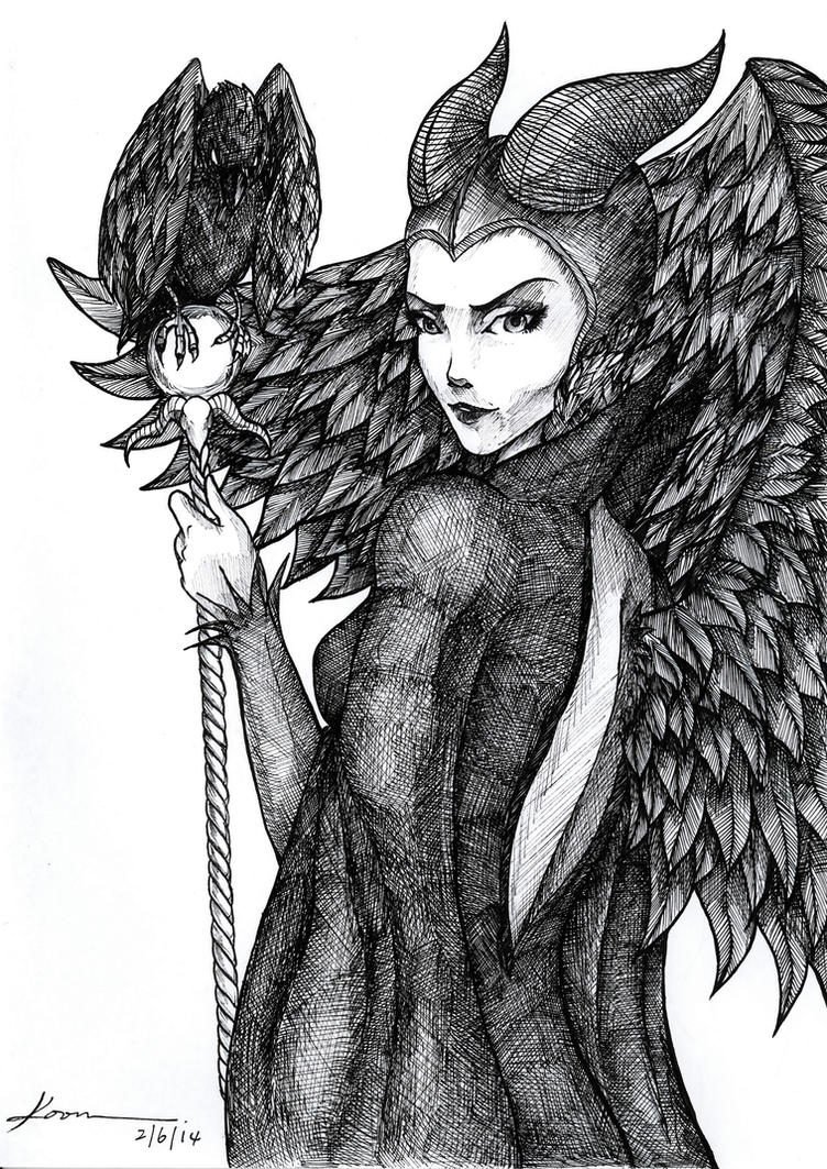 Maleficent by Ahko0N