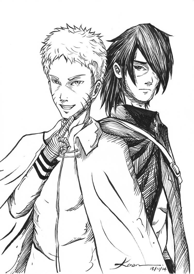 Naruto Fan Art by Ahko0N