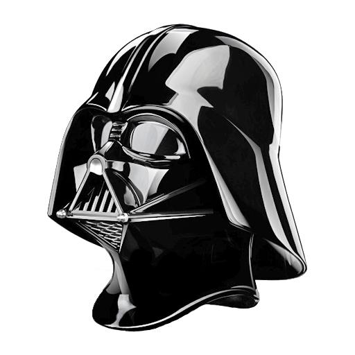 star wars vader helmet icon by keigere