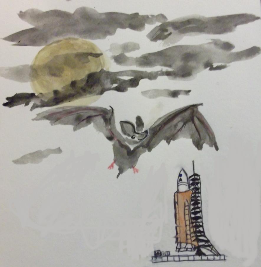 Space Bat 2 by D157r4c710n