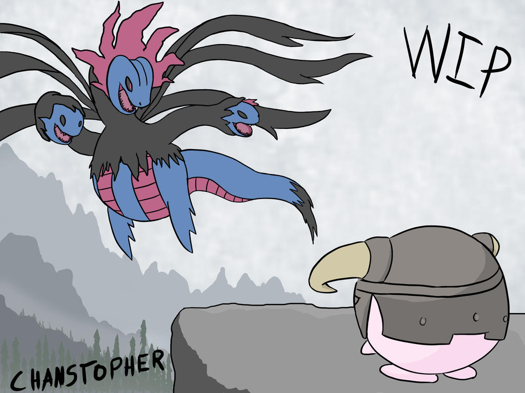 Pokemon X and Y- Dovapuff by Chanstopher