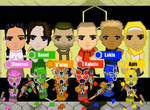 Rokkaku Sentai Konchuger : Cast Pic