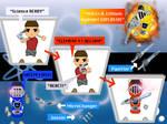 Atomikku Sentai Genshiger : Henshin + Weapons