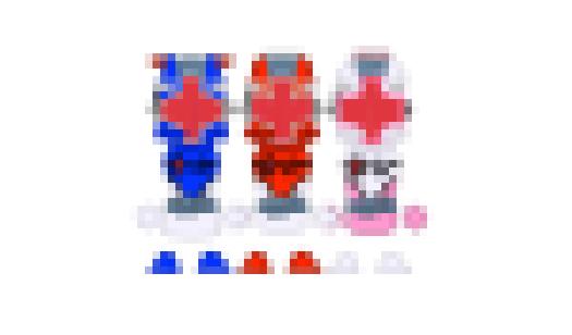 Medical Sentai Team by Sentaibrave