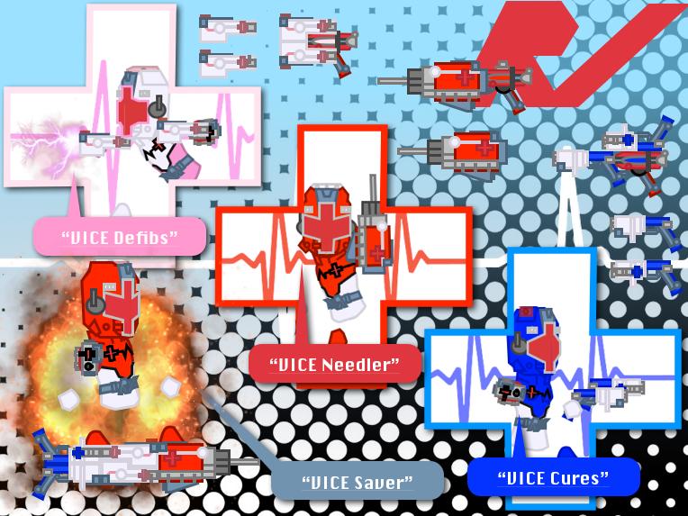 Isha Sentai Rescue Vice : CURE Saver by Sentaibrave