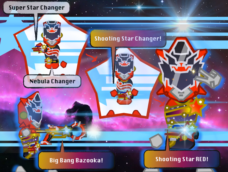Star Sentai Hoshiger : Shooting Star RED! by Sentaibrave