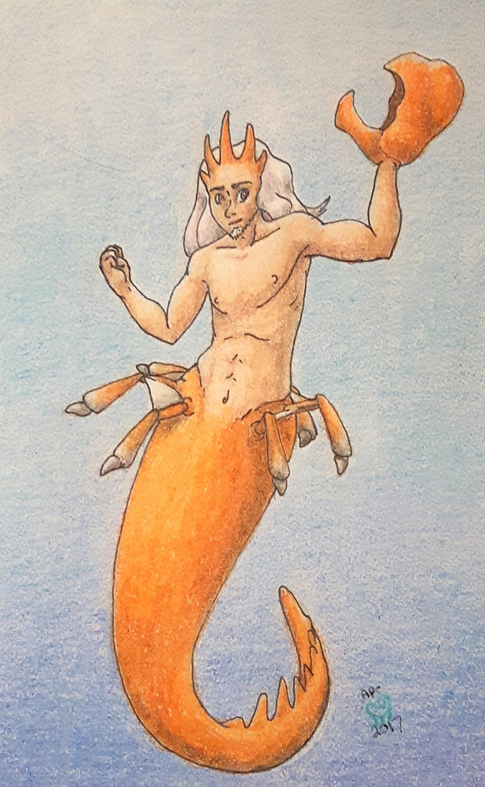 King of the Mer-Crabs by altered-worlds