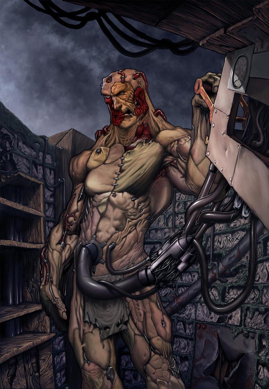 Frankenstein by Nitrox-Marquez
