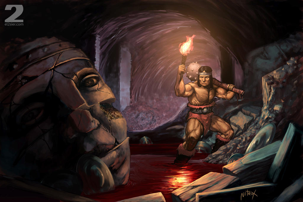 Conan background by Nitrox-Marquez