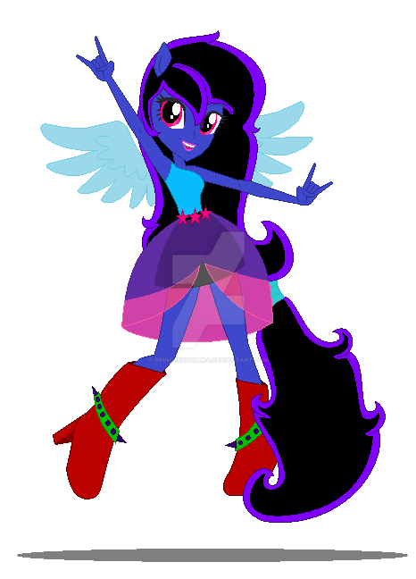 Wolfine Equestria Girls - Rainbow Rocks [update] by PrincessSombra
