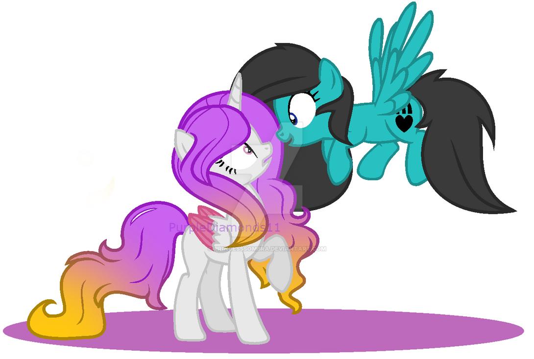 I'm a Big Fan - Collab - PurpleDiamonds11 by PrincessSombra