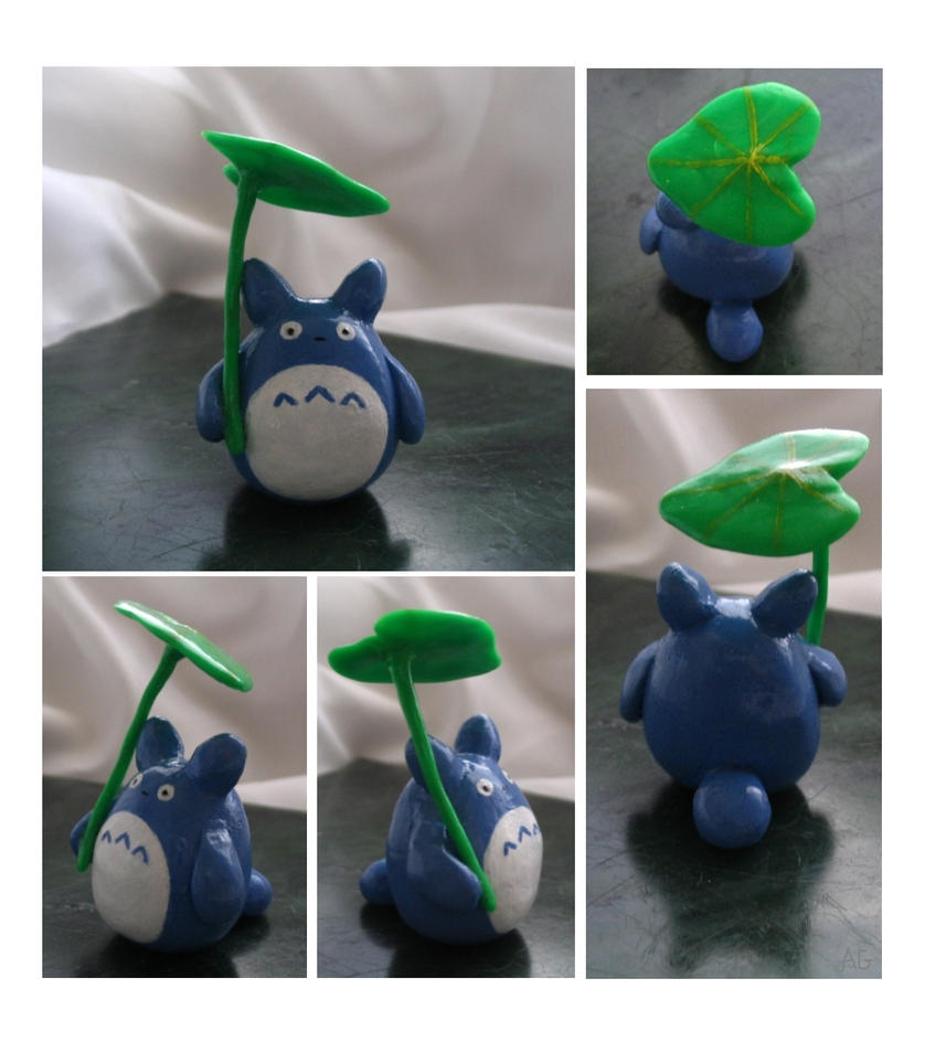 Totoro Figurine by ridiculyss