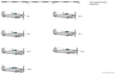Hughes Hound Dog variants by Vexiphile