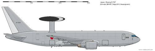 E-767 Japan by Vexiphile