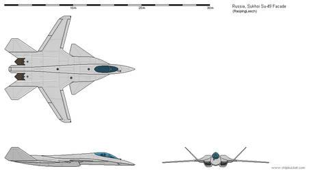 Su-49 Facade by Vexiphile