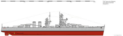 CSS Virginia as planned