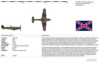 Supermarine Skylark - Confederate States