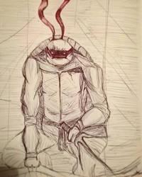 Inktober - Mask