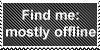 Stamp: Find Me: mostly offline by pamelahoward2009