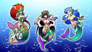 Montowers - The Mermaids by InifiniySociety89