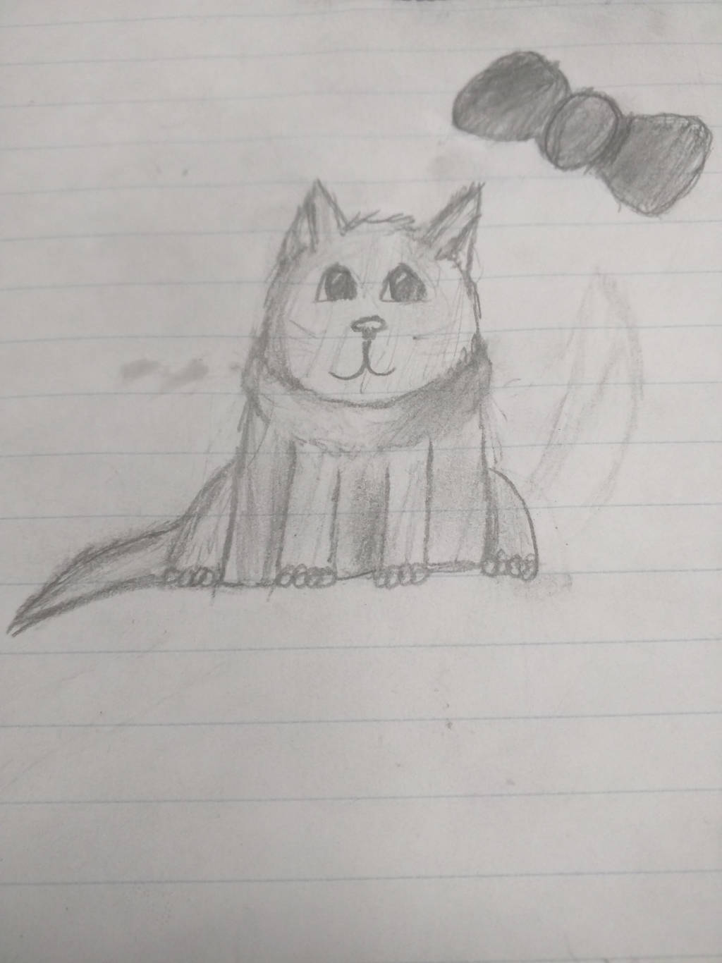 floofy kitty 1 by TyGuytheTimeTraveler