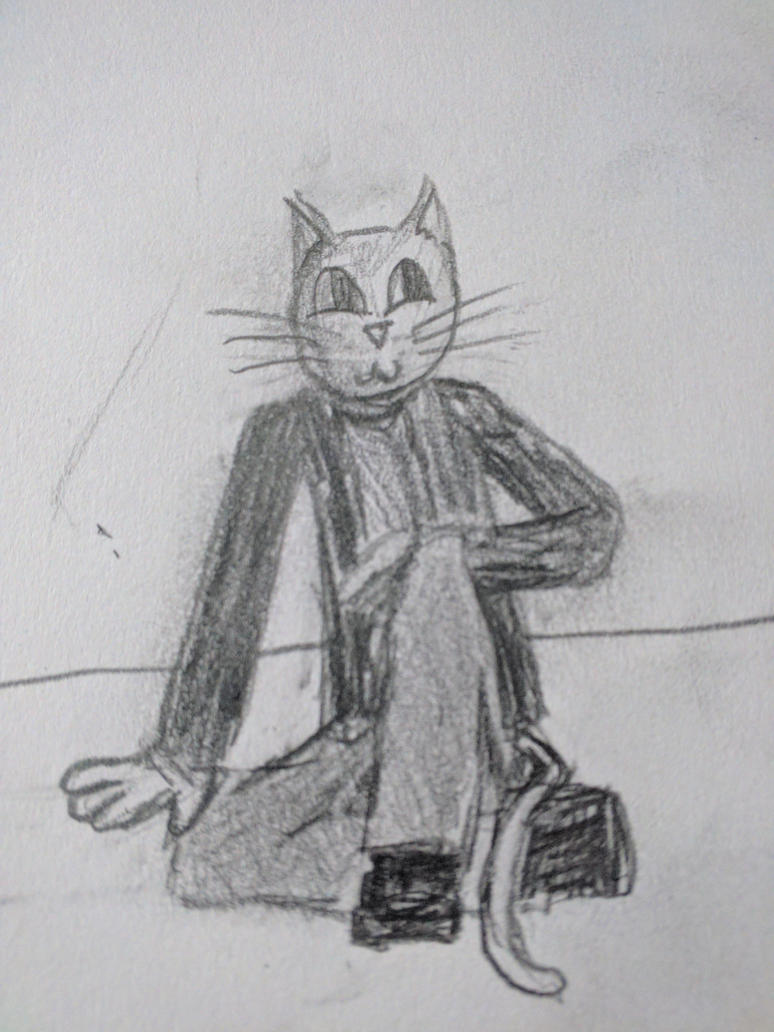 random cat man by TyGuytheTimeTraveler