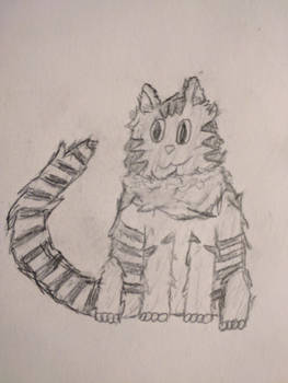 Jazz Cat by TyGuytheTimeTraveler