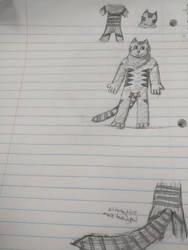 Fursona ref thing (notebook)