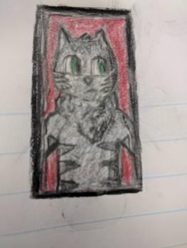 Jazz cat Portrait thing