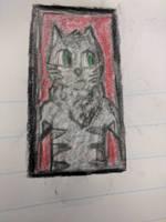 Jazz cat Portrait thing by TyGuytheTimeTraveler