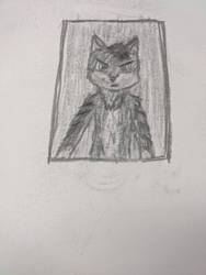 Wolf Man (practice drawing) by TyGuytheTimeTraveler