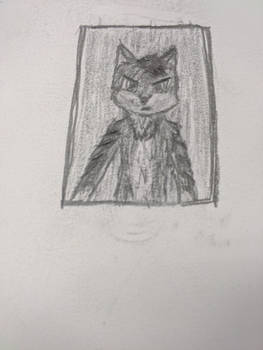 Wolf Man (practice drawing)