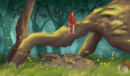 Lost Little Red Riding Hood by hitpain