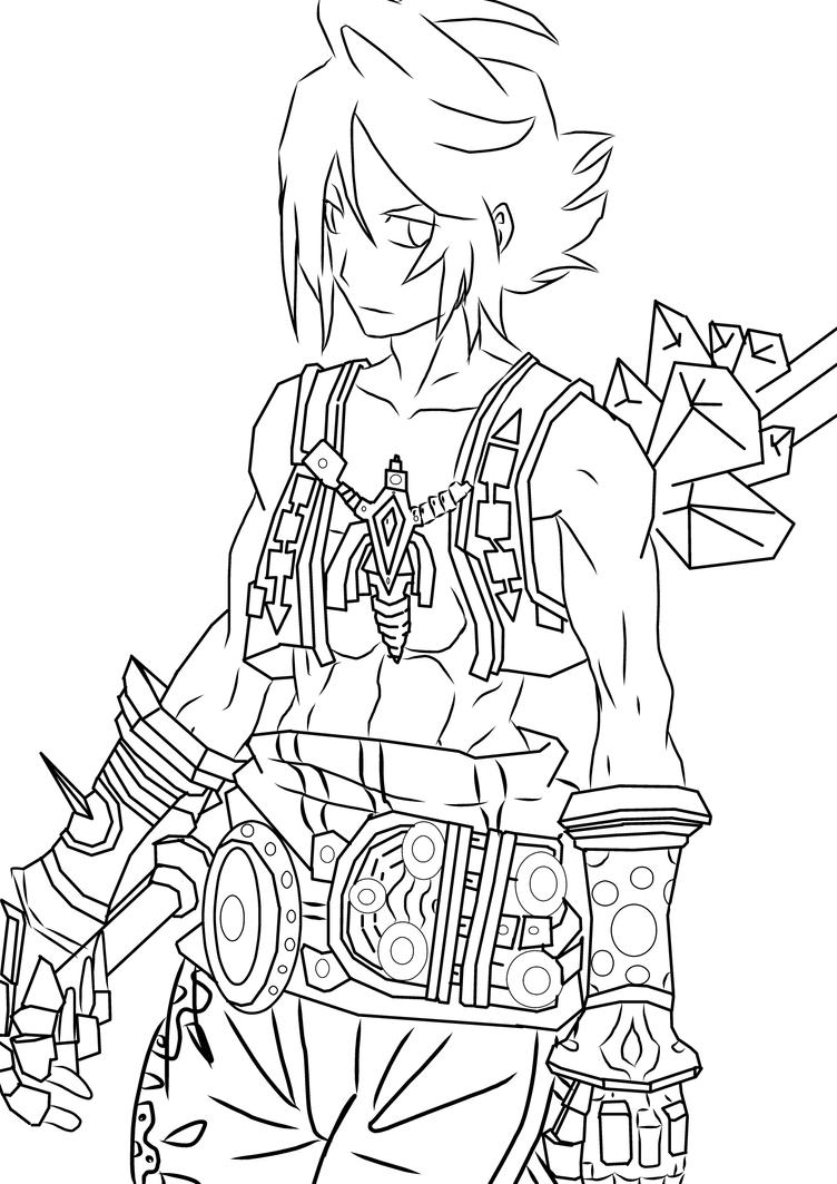 Fan art vaan final fantasy 12 by salah sama96 on deviantart for Final fantasy coloring pages