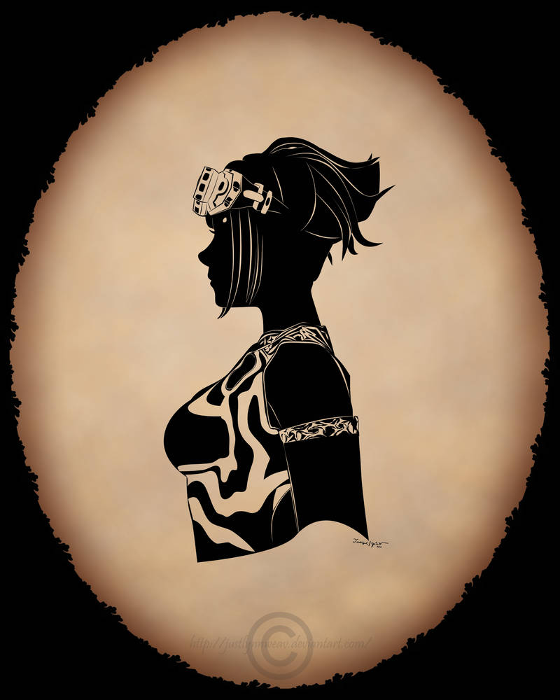EQ2 - Player Silhouette request 6 wood Elf race by
