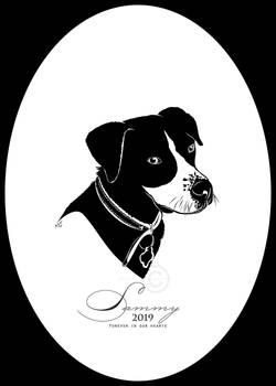 Sammy Silhouette memorial portrait