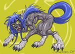 Werewolf girl version 2.5 by Black-rat