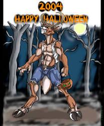 White tailed werewolf? by Black-rat