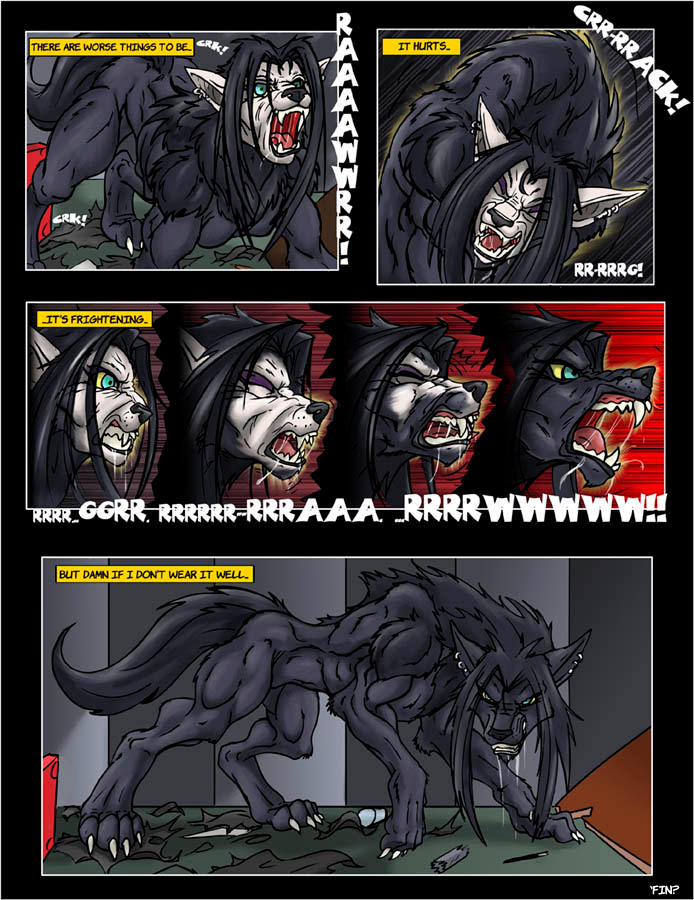 Female Werewolf Transformation Comic Deviantart
