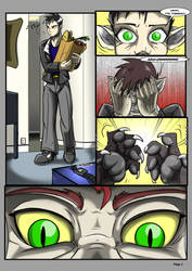 Werefox Commie page1 by Black-rat