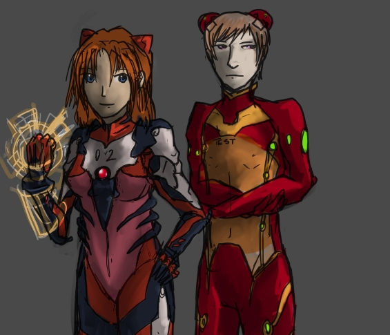 NGE: Nobody Dies: The Sohryus by raema