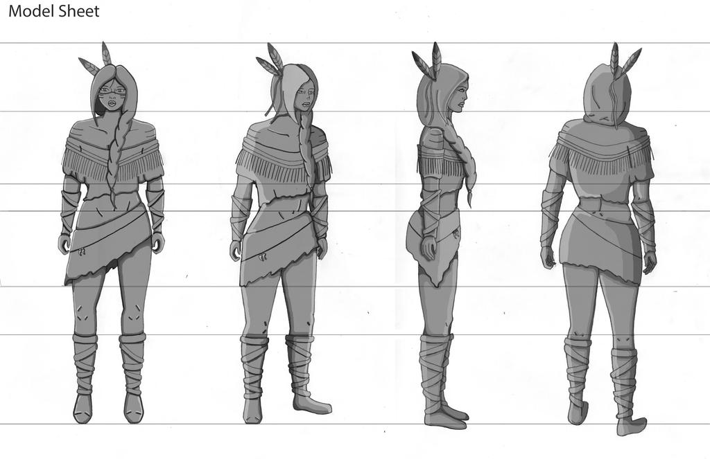 Fantasy Character Design Sheet : Model sheet high fantasy character by chelsea on