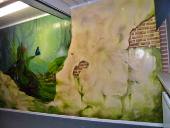 Wall painting by jaccofiets
