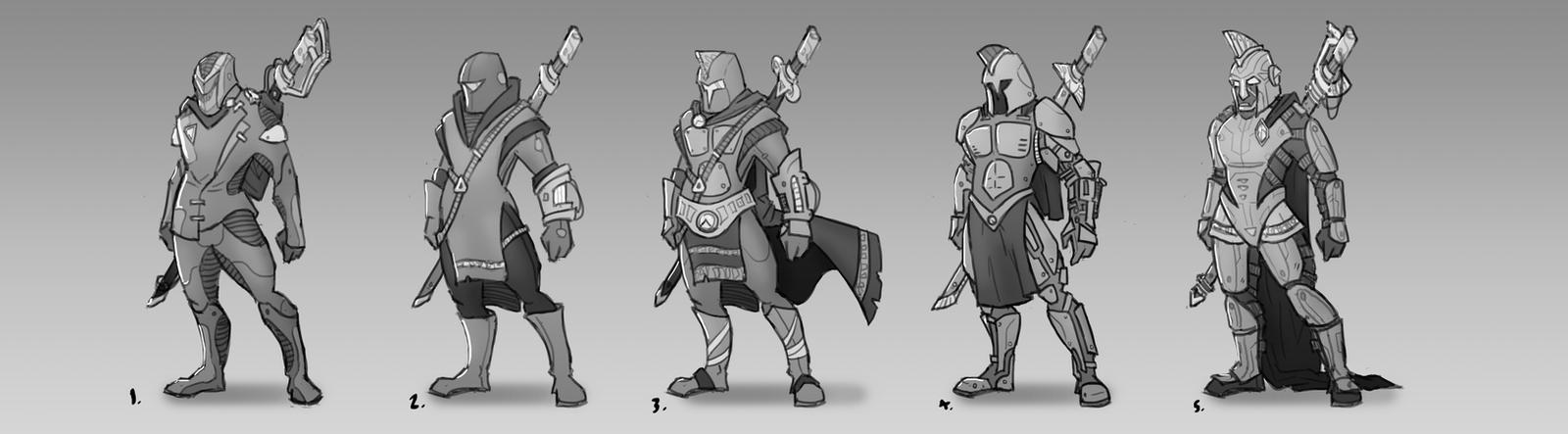 Nemesis Main Hero by mojoartwork