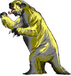 Ground sloth Lestodon
