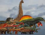 Paleopanoramas dinosaurs