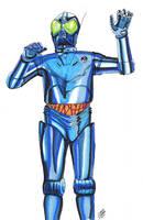 the blue Ra 7